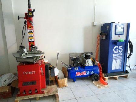 usaha toko ban motor tire changer nitrogen generator