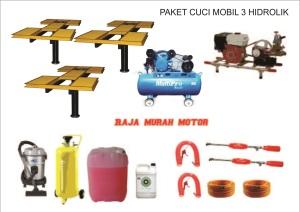 paket usaha cuci mobil 3 hidrolik tipe H mau cara membuka memulai peluang paket peralatan hidrolik tipe H modal keuntungan analisa franchise waralaba